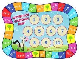 Subtraction Game - Zebra Bump