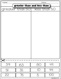 Math Freebies- Greater than/less than, fact families (correct/incorrect), even/odd....