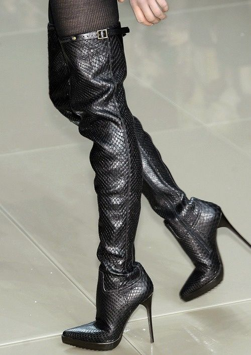 These are so hot. Remind me of Jessie J.'s boots.  Gorgeous! Burberry thigh high boots