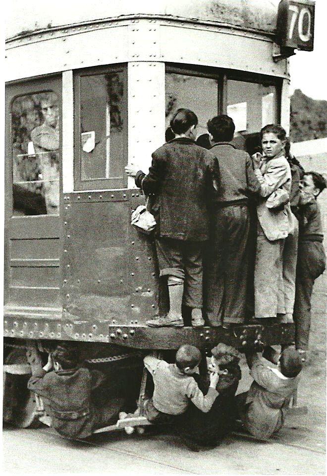 Barcelona 1950   Foto: Ramón Dimas