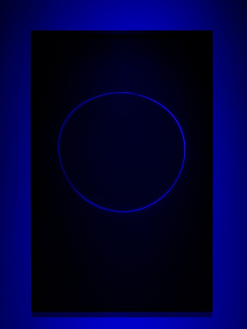 Untitled (9NSB) . Transmission light work, by James Turrell