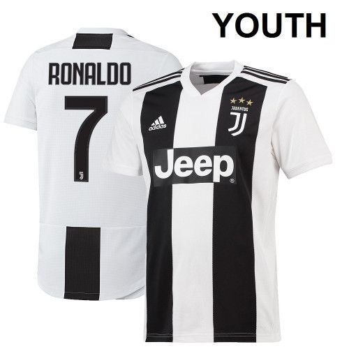 sports shoes 0101b 6db21 Youth, kid Cristiano Ronaldo Juventus Kids Soccer Jersey ...