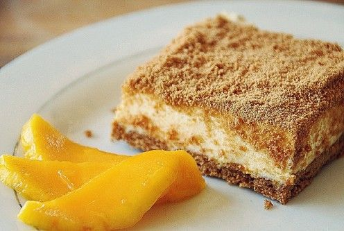 "My all-time favorite dessert - ""Mango Float"" #philippines"