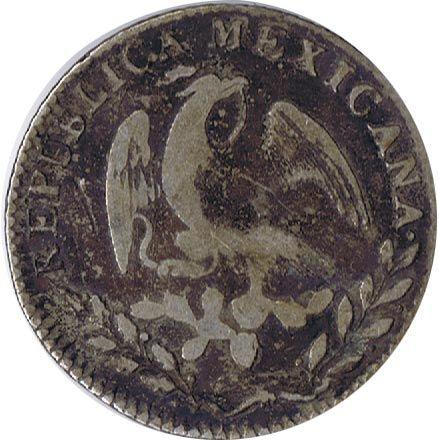 Mexico 2 Reales 1852. Plata., Tienda Numismatica y Filatelia Lopez, compra venta de monedas oro y plata, sellos españa, accesorios Leuchttur...