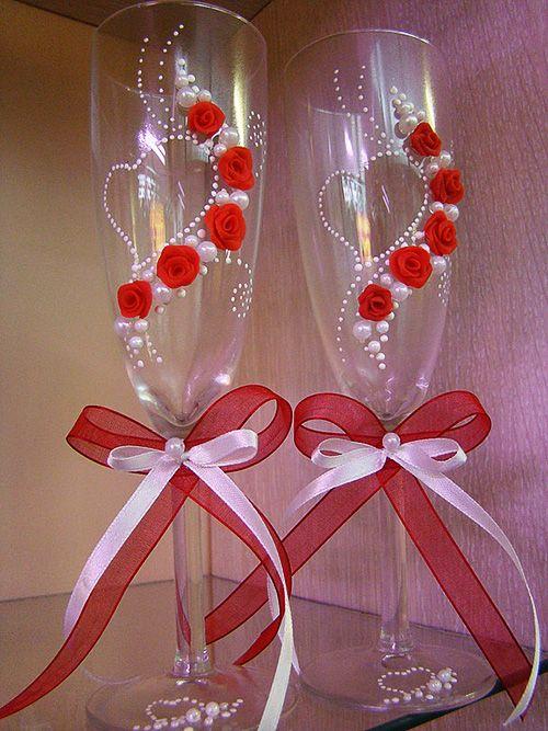 decoração de garrafas e copos. Fale com LiveInternet - serviço russo on-line Diaries
