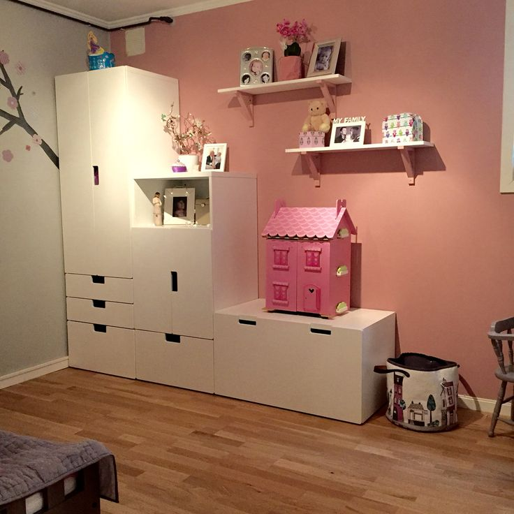 Girlsroom stuva ikea kids rooms pinterest for Kinderzimmer pinterest