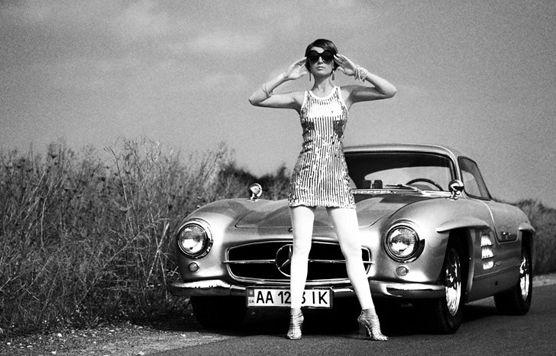 Mercedes: Merc 300Sl And Girls, Bond Girls, Style, Fashion Vintage, Cars, 1960S Fashion, 300 Sl, 1960S Mercedes, 1960 S