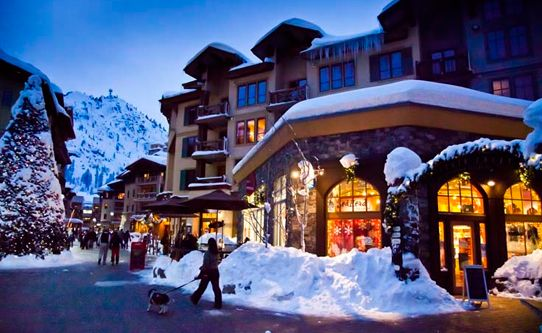 January 14th baby!! The Village at Squaw Valley--Tahoe...