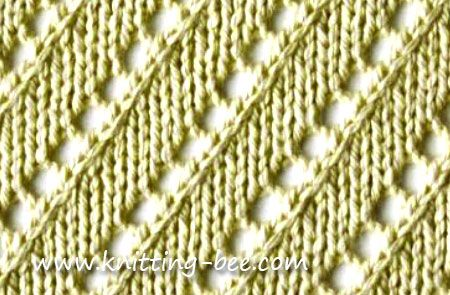 Knitting Stitches K2tog : 17 Best images about Puntos en Diagonal y Rombos on Pinterest Cable, Stitch...