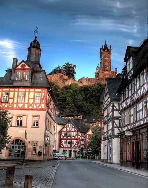 Dillenburg - Germany (von Werner Kunz),geboortehuis Willem van Oranje Vader des Vaderlands Nederland