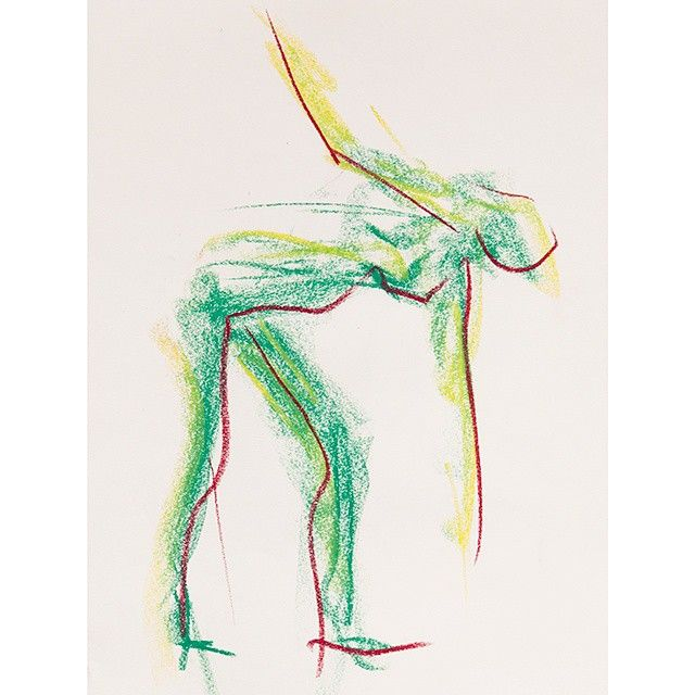 Green skin - The colours of the body -Marxal Art #lifedrawing #kroki #teckning #dibuix #konst #beauty #drawing #colours #pastel #gesture #finearts #sketch #quickstudy #quicksketches