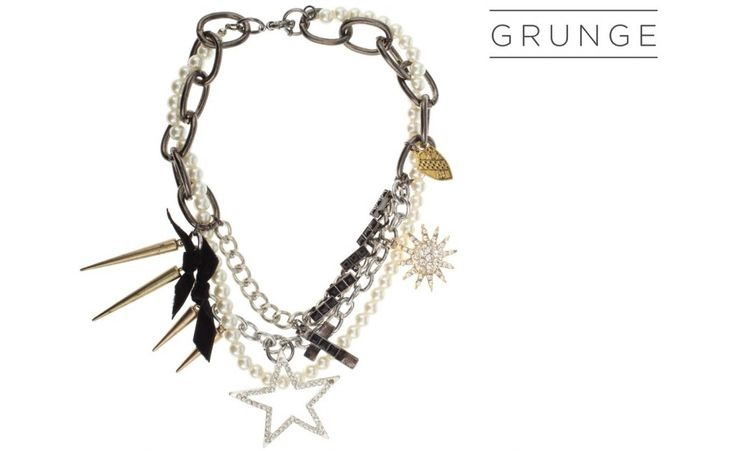 Grunge Pendants Necklace!  PARFOIS| Handbags and accessories online