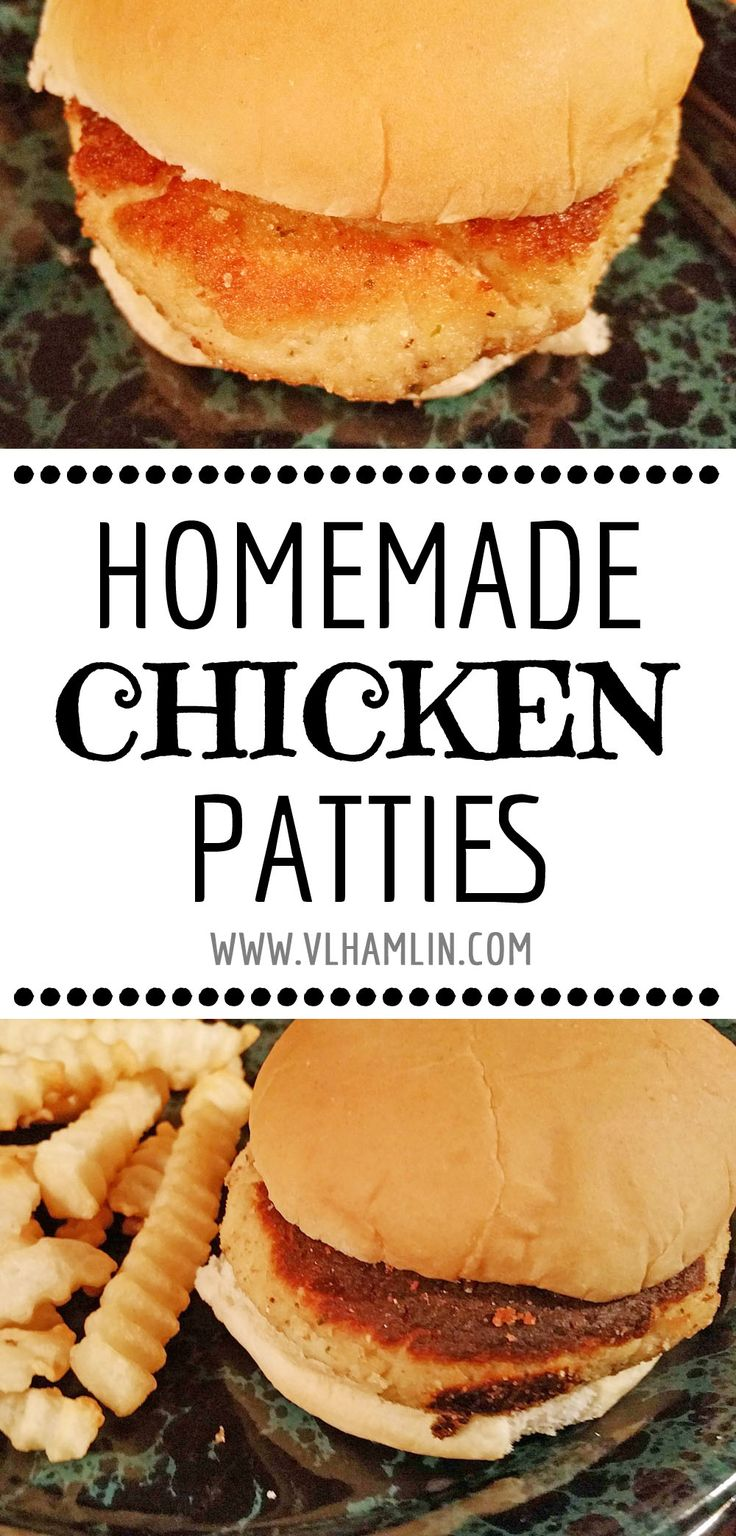 Love chicken patties, but hate the chemicals and preservatives? Try my recipe for homemade chicken patties and you'll never buy the packaged variety again.