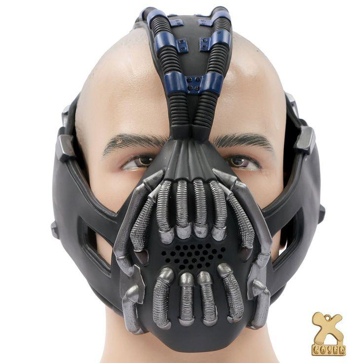 Instead of always being batman why not go as bane to the next costume party Bane mask voice changer darumbinichblank.de........................Gehen Sie doch mal als Bane statt Batman auf die nächste Kostümparty Bane Maske Stimmenverzerrer darumbinichblank.de