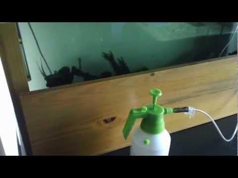 Sin energia? Oxigenador Acuario/pecera (hecho en casa) - YouTube