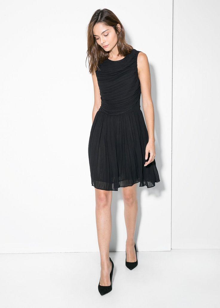 Sukienka plisowany szyfon