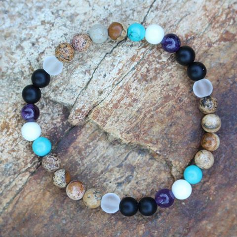 Look familiar? This bracelet was custom made for a client who was inspired by another clients previously custom design wrap bracelet. Love it! #makeityourown  #mymalarae #malarae  #customdesign #malas #malabeads #jewelry #gemstones #crystals #intention #meditation #mantra #boho #mindset #joblove #yoga #yogi #holistic #namaste #wellness #love #yogaeverydamnday #manifest #spiritual #happiness #accessories #meditate #intuition #unique