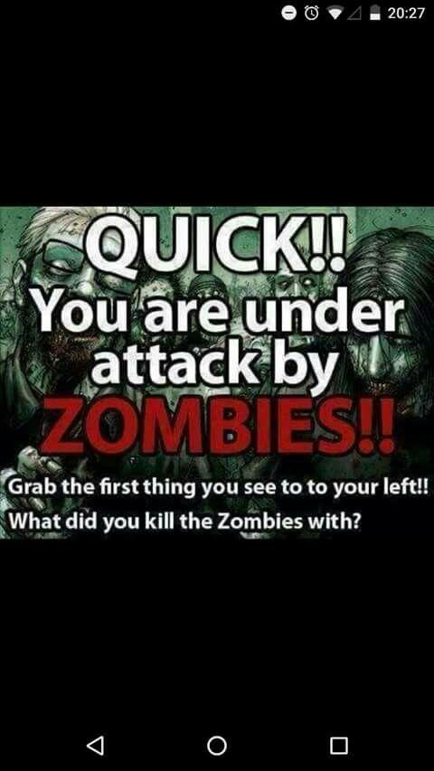 Zombie question...