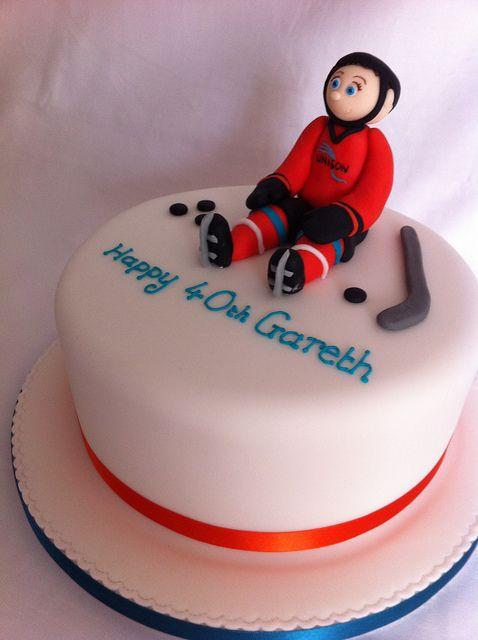 7 Best Images About Ice Hockey Cake On Pinterest Ice