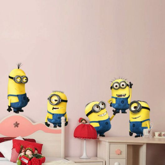 Despicable Me 2 Minion Movie Decals Removable Wall Decal