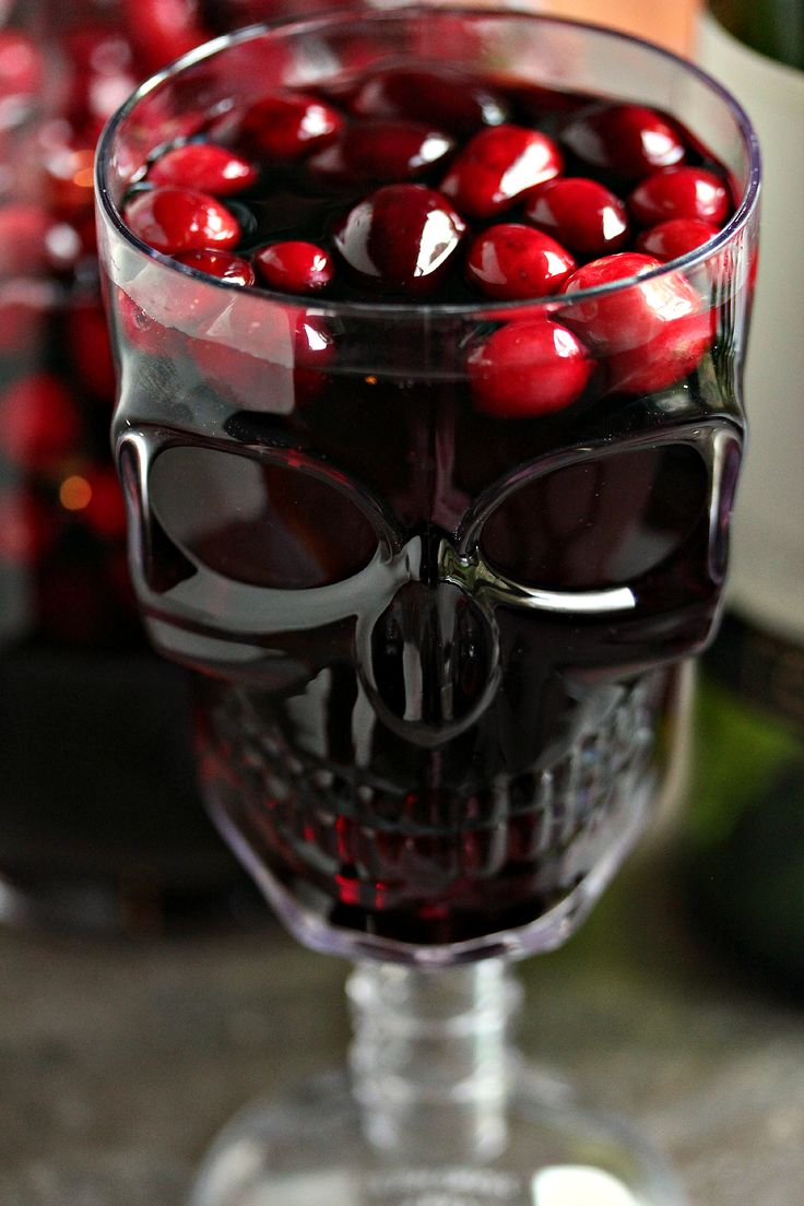 Cranberry Sangria aka Devil's Sangria- Cranberry Sangria is the perfect drink for Fall and Winter. Whip up a batch for Thanksgiving or Christmas. You can jazz it up for Halloween and call it Devil's Sangria!