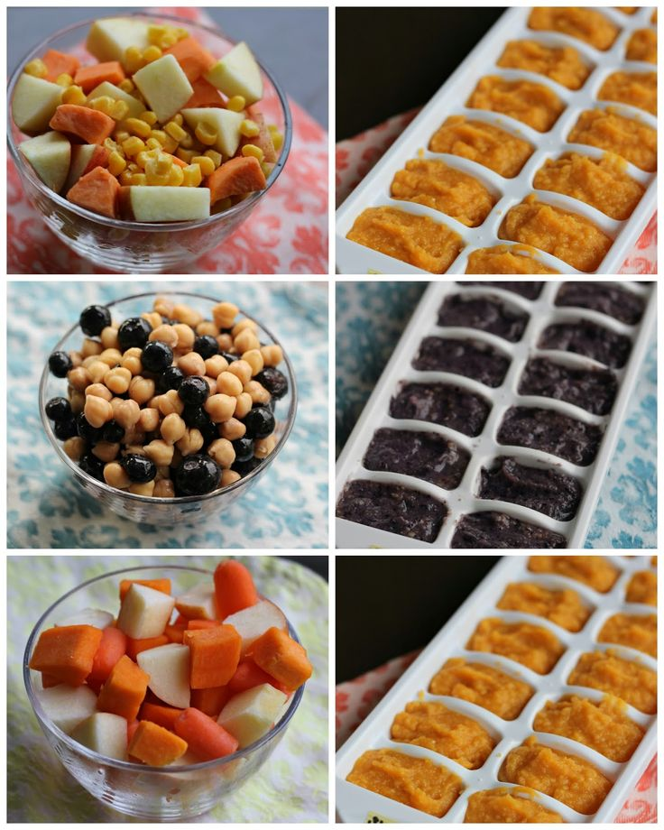Favorite Homemade Baby Food Purees