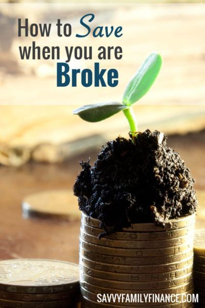 How do you save money when you are broke and living paycheck to paycheck? It…