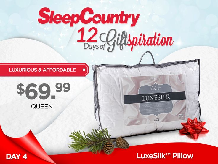Day 4 - Our Lovely LuxeSilk™ Pillow