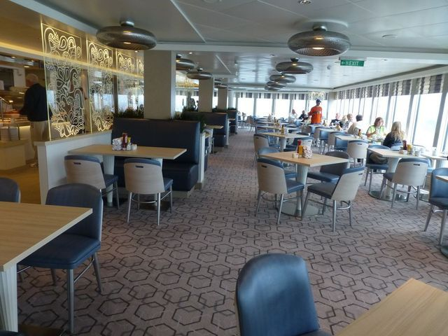 29 Dining Options on the Norwegian Breakaway: Garden Cafe