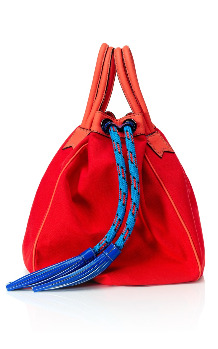 647cc9eb3cb Tool Belt chords on bags    LOVE    Red and blue    Meredith Wendell   Canvas Circle Bag