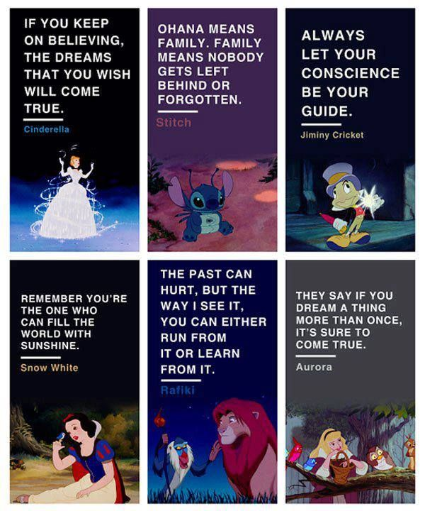 Disney Quotes from the movies