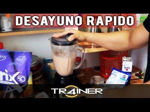 Super Batido Casero Para Aumentar Masa Muscular - YouTube