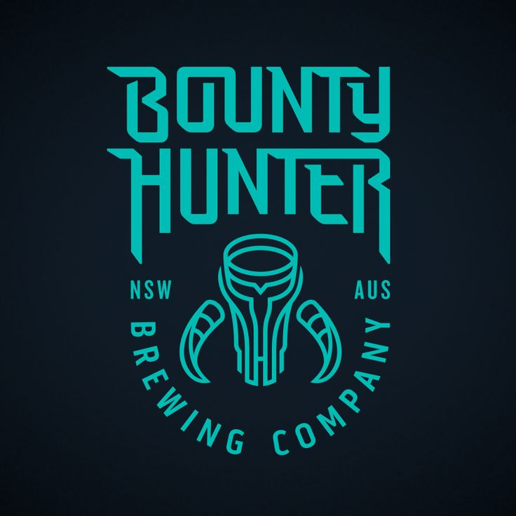 Bounty Hunter Brewing Identity design by @zendoke, inspired by pop culture and brewing some bad ass beers.