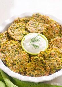 platter-baked-zucchini-fritters-recipe