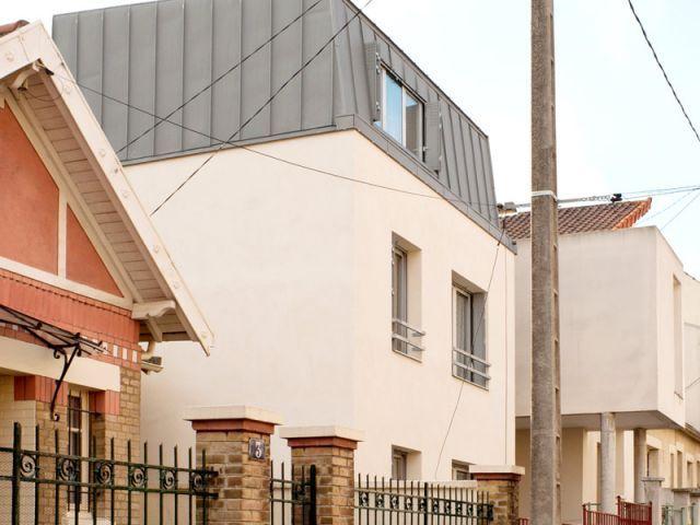 Bauchet \ de La Bouvrie Architectes - Surélévation du0027une maison à