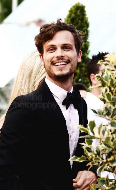 Matthew Gray Gubler; I actually really love him in a beard, which is weird because I usually don't like facial hair on men...