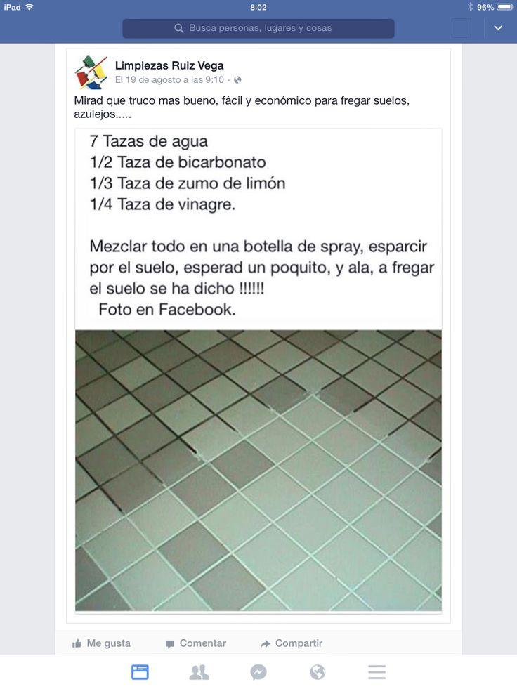 Limpia pisos