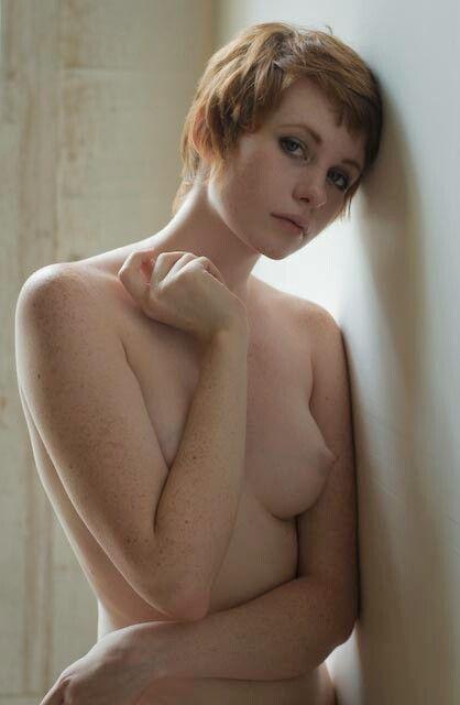 Pixie Cut Nude Models  Love Real Girls  Ko In 2019 -6747