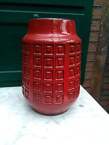 Scheurich 228-35 Vase Bodenvase West Germany pottery Design 60er 70er | eBay
