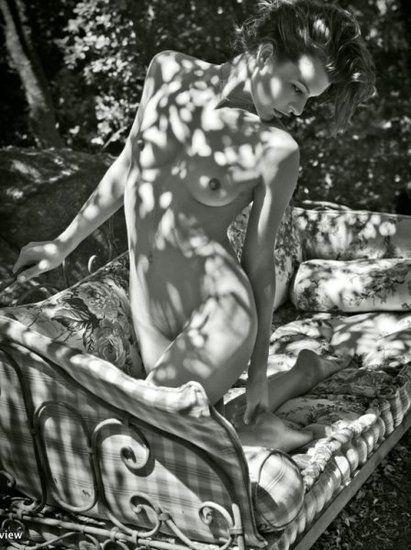 Milla Jovovich by Mario Sorrenti