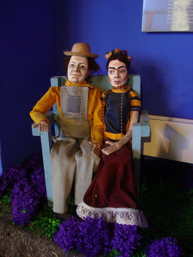 Дом-музей Фриды Кало в Койоакане, Мехико-Сити, Мексика