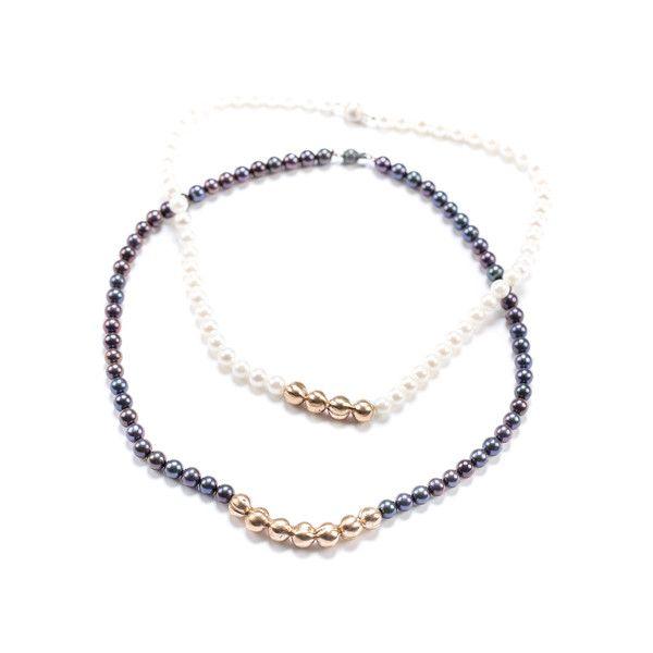 Perlencollier – MirDesign – Perlen und Bronze available at Mir Design reserve on STORES & GOODS | Shop local | Boutiques Zurich | Fashion