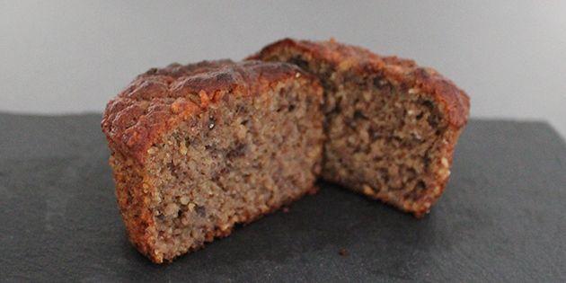 Skønne og sunde muffins helt uden mel og sukker, men med et herligt twist af lakrids.