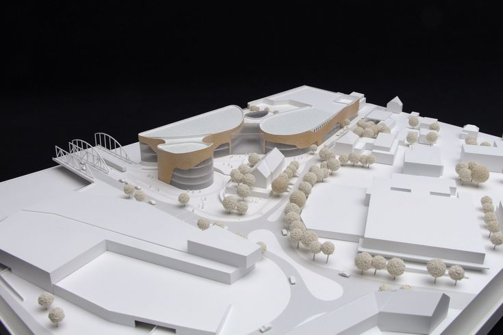 Dreiländer Galerie, or 'Three Countries Gallery', is a new shopping centre in the German town of Weil am Rhein. Chapman Taylor's Düsseldorf studio, together with the investor CEMAGG GmbH, was announced winner of a competition to design and develop the scheme.