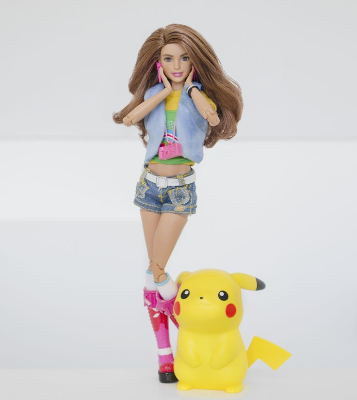 Teresa Made To Move Barbie Body Barbie Fashion Doll Pok 233 Mon Pikachu Fashion Dolls