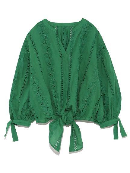 前結びレースブラウス(ブラウス)|Mila Owen(ミラ オーウェン)|ファッション通販|ウサギオンライン公式通販サイト