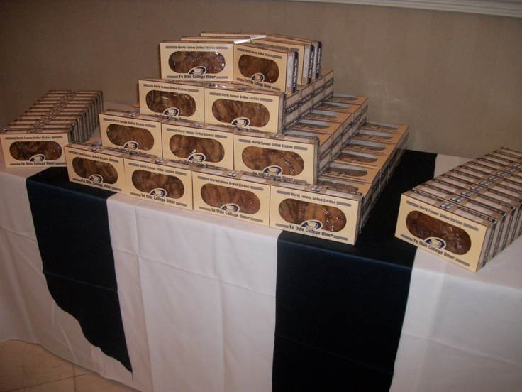 Grilled stickies for every Penn State wedding guest!