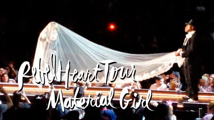 "Madonna performs ""Material Girl"" at her first Sydney Rebel Heart show. ▲ Instagram - https://instagram.com/ketobaberocks/ ▲ Facebook - http://www.facebook.co..."