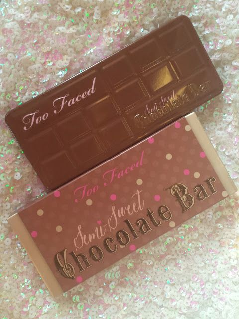 Color Me With Beauty: TOO FACED Semi-Sweet Chocolate Bar: primele impresii, review, swatches & more!