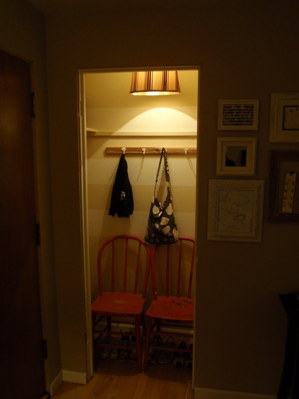 Coat Closet To Mud Room. Small Space DesignSmall ... Part 92